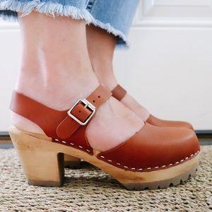 Mia Abba clogs, brand new in box! Size 9